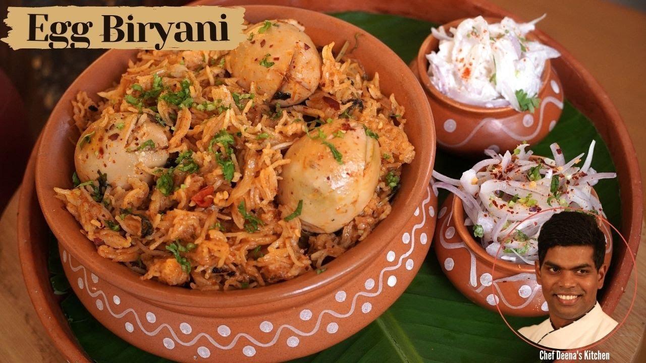 Egg Biryani Recipe in Tamil   How to Make Egg Biryani   CDK #353   Chef Deena's Kitchen
