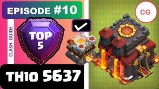 TH10 LEGEND Guide vs TH11 | Top 5 Attacks Episode 10 | Clash of Clans