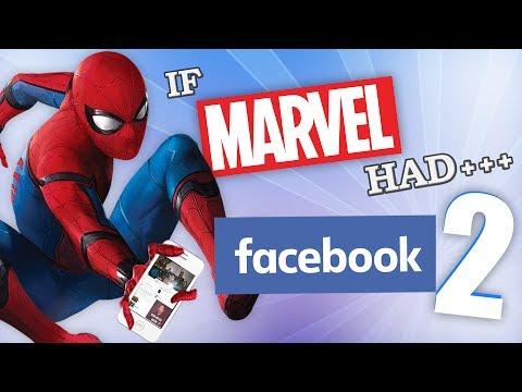 IF MARVEL HAD FACEBOOK 2