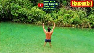 Almolonga MANANTIAL de agua CRISTALINA escondido en la Mixteca