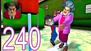 Scary Teacher 3D - Gameplay Walkthrough Part 240 - New Levels New Update (iOS/Android)