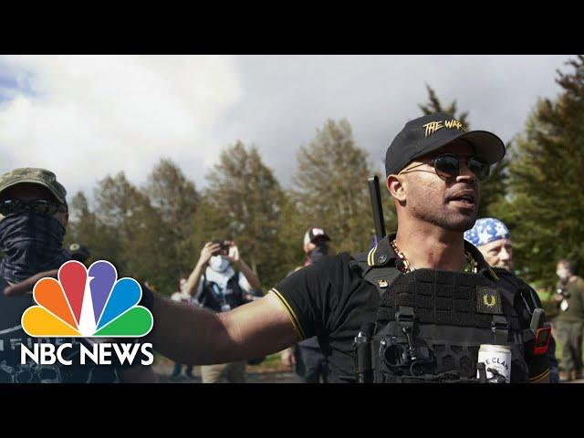 Proud Boys Leader Turned FBI Informant Following 2013 Arrest | NBC News NOW