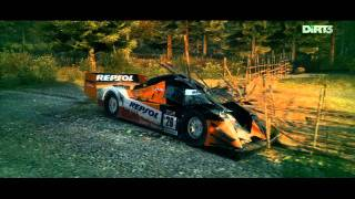 DiRT 3: 25 unbelievable flips, spins and smashes