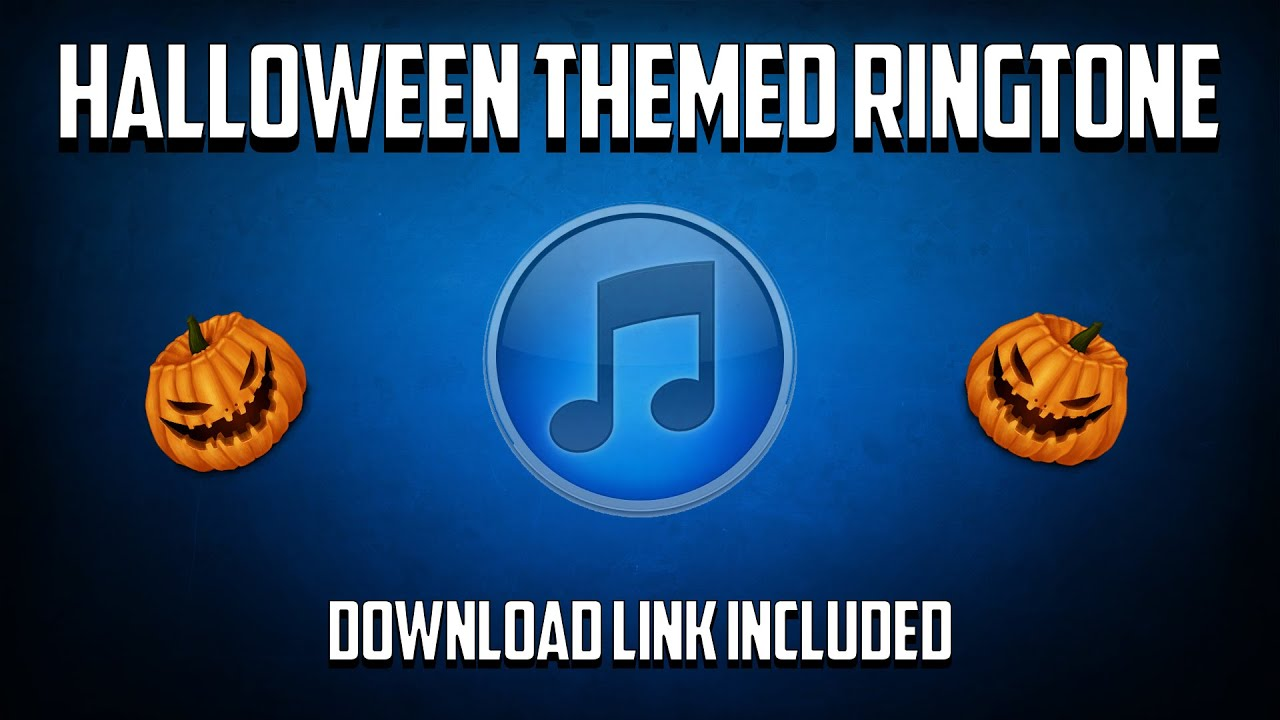 halloween ringtone download link included