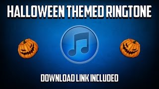 Halloween Ringtone (Download Link Included)