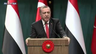 أردوغان: هدف روسيا شق ممر للأكراد بشمال سوريا