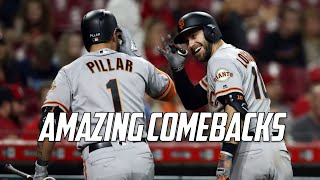 MLB | Amazing Comebacks | Part 8