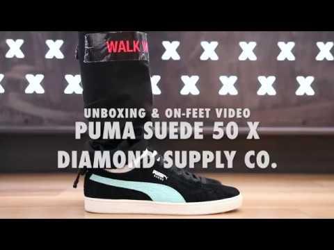 the best attitude d8760 141b0 Puma Suede 50 Years X Diamond Supply Co
