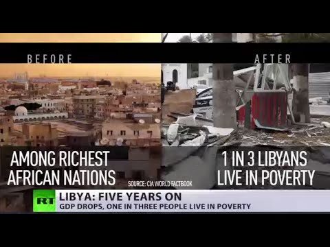'Now devastated': 5 yrs after Libyan revolution