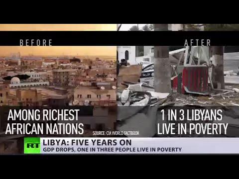 'Now devastated': 5 yrs after Libyan revolution