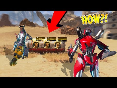 TELLING PLAYERS LOOT THEY CAN'T SEE IN APEX LEGENDS!! (They FREAK Out!)