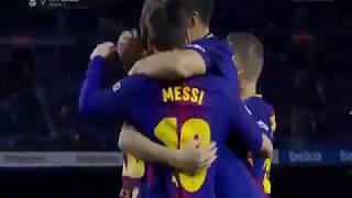 Barcelona vs Deportivo 4-0 - Highlights & Goals - 17 December 2017
