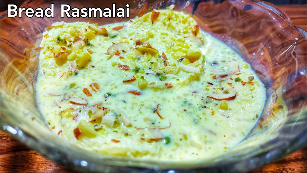 Bread Rasmalai Recipe | How to make Bread Rasmalai Easy and Quick Way