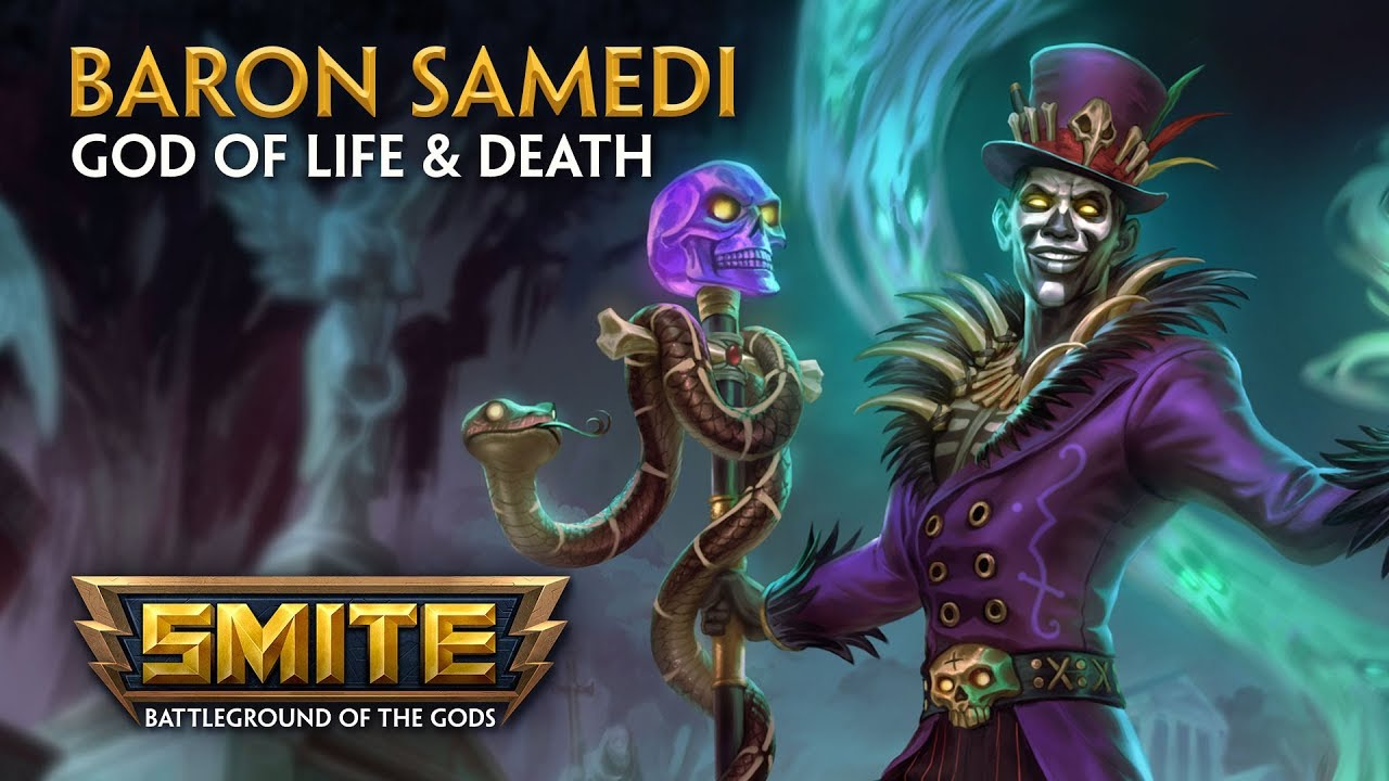 Smite God Reveal Baron Samedi God Of Life And Death Youtube