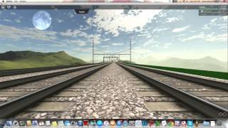 Roblox Railfanning Acela Express
