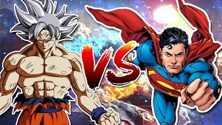 Masterd Ultra Instinct Goku Vs Superman Sprite Animation   Expectations Vs. Reality