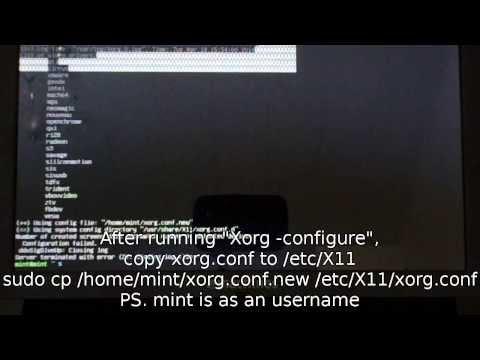 "How To Fix ""failed to start X server error"""