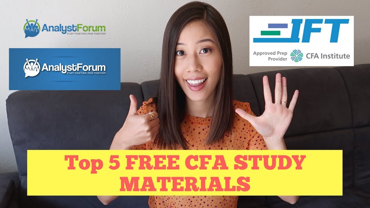 Top 5 FREE CFA Study Resources| 超实用!CFA免费学习资源分享