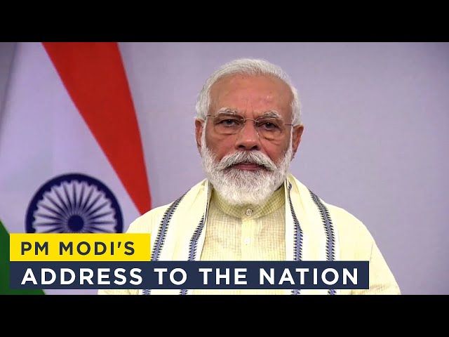 PM Modi's address to the nation