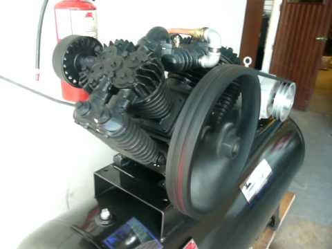 Gki 10 Hp Air Compressor Youtube