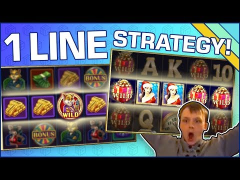 Great slots to use the ONE LINE STRATEGY on! - 동영상