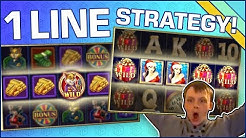 Great slots to use the ONE LINE STRATEGY on!