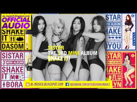 [MP3/DL]05. SISTAR (씨스타) - Go Up  [VOL.3 'SHake It']