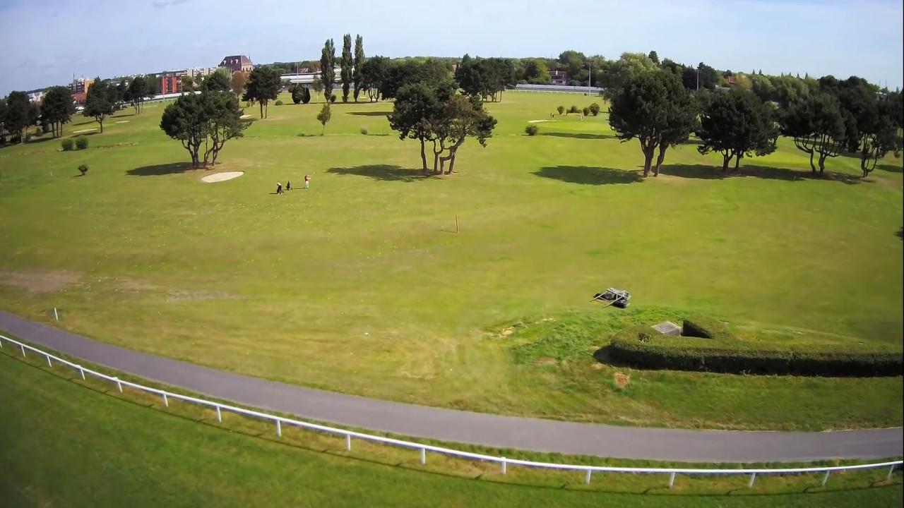 Hippodrome de Marcq-en-Baroeul - Survol de hippodrome de marcq en baroeul par TonioElChinio 72129