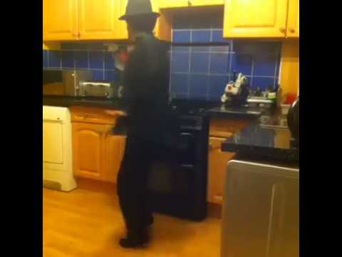 Michael Jackson in the Kitchen