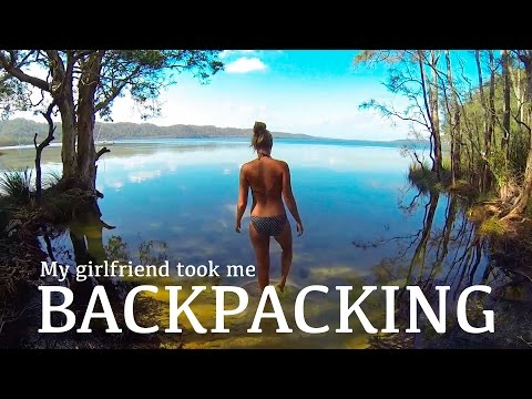 My girlfriend took me backpacking...