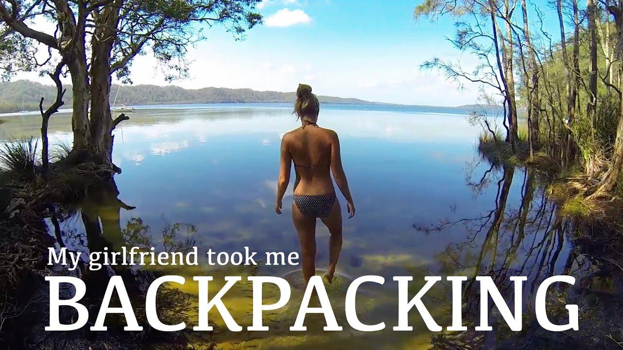 My girlfriend took me backpacking...
