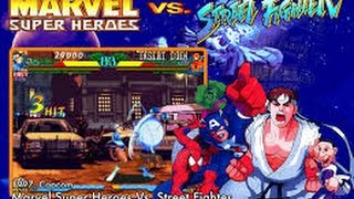 Marvel Super Heroes vs. Street Fighter (Arcade)