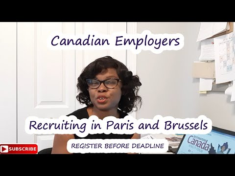 Canadian Employers Recruiting In Paris And Brussels