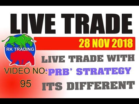 INTRADAY LIVE TRADE 6TH DAY ON