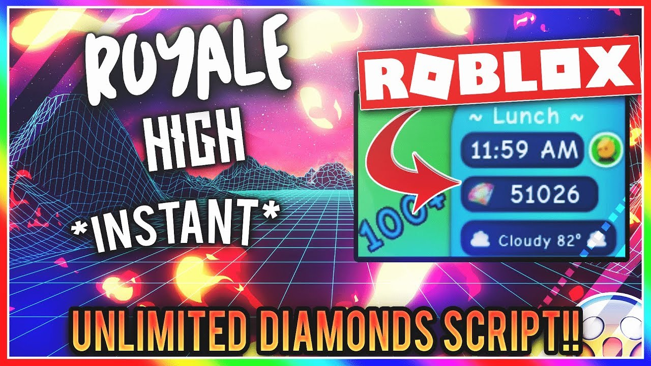 [WORKING]🔥ROBLOX HACK!🔥 | ROYALE HIGH | 😱 INSTANT UNLIMITED DIAMONDS  SCRIPT 😱 [FREE] [Aug 02]