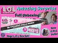 LOL Amazing Surprise!  Full ULTIMATE GIANT Unboxing | NEW OMG Dolls! | Surprising my Sister |