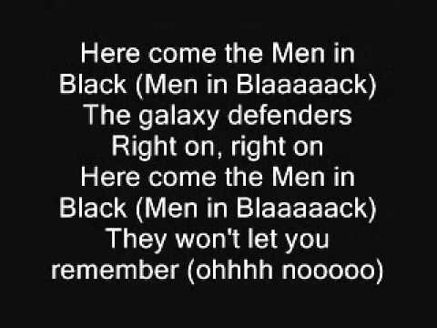 Will Smith - Men in Black Lyrics