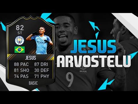 FIFA 17 OTW GABRIEL JESUS 82 TESTISSÄ