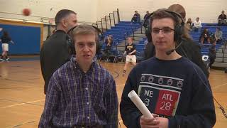 Highlights of my 100th LHS basketball broadcast