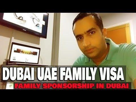 Dubai Family Visa | Family Sponsorship In UAE Basic Requirements