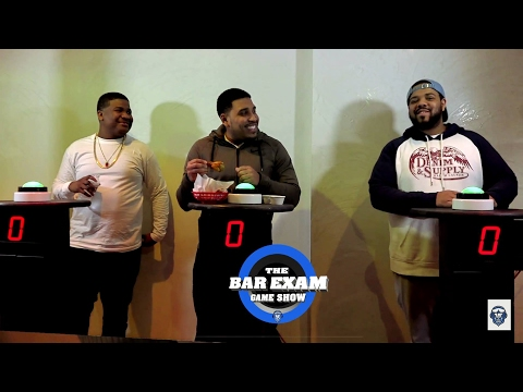 THE BAR EXAM GAME SHOW - CHARLIE CLIPS, GOODZ & DNA II - SEASON 5 EPISODE 2