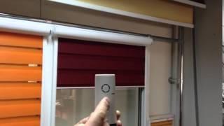 Рулонные шторы День Ночь с электроприводом(, 2015-07-15T01:54:18.000Z)