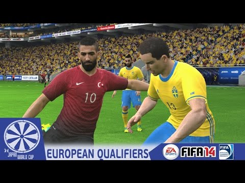 Sweden vs. Turkey - End of Europe Qualifiers Group E - PES2016 - 3rd Japan WCQ - 60fps