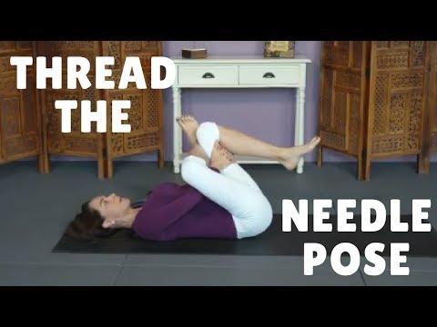 Thread the Needle Pose