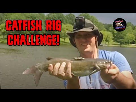 Catfish Rig Challenge!   Carolina Rig Vs Slip Bobber Rig   Best Catfish Rigs   How To Catch Catfish