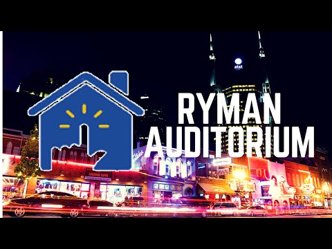 Nashville Smart Loft: Ryman Auditorium Mini Documentary
