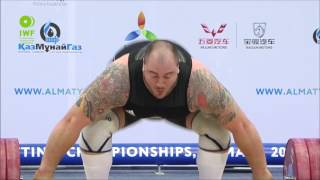 Men +105kg A Snatch 2014 World Weightlifting Championships