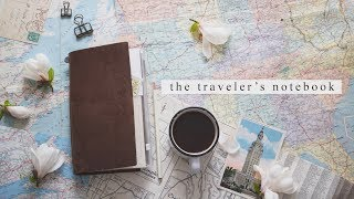 How To Set Up Your Traveler's Notebook | Beginner's Guide