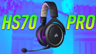 Best $100 Wireless Gaming Headset Out | Corsair HS70 PRO Review