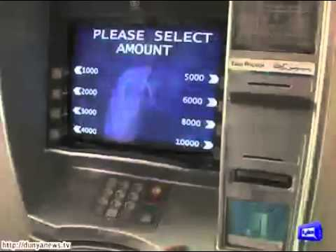 Pakistani Hackers Hacked hundreds of ATM Cards  -youtub.pk